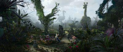 Alice_topiary