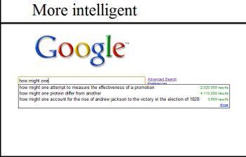 ... Google asks if you're wondering