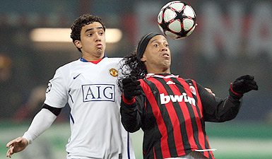 Rooneys performance did not include some of the flicks, passes and turns of Ronaldinho; rather he went briskly about the business of winning the game. And on nights such as these that really is all that matters   Sam Wallace