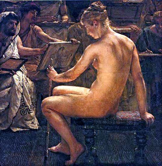 Lawrence_Alma-Tadema_-_Un_estudio_romano