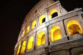 Colosseum-by-night