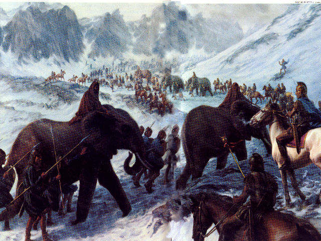 Hanibal v Alpách