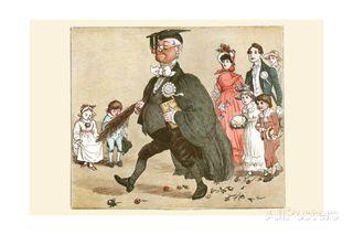 Randolph-caldecott-great-panjandrum-professor-with-latin-grammar-in-hand