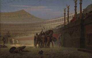Jean-Léon_Gérôme_-_Ave_Caesar!_Morituri_te_salutant_(1859)