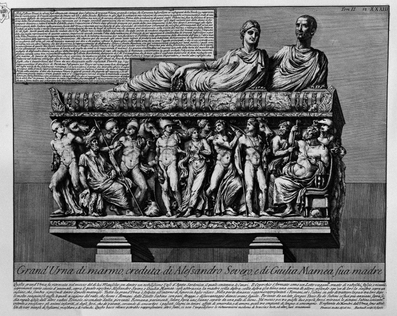 The-roman-antiquities-t-2-plate-xxxiii-insight-into-the-tomb-of-alexander-severus-1756