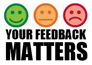 Your feedback is important