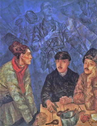 Kuzma-petrov-vodkin-after-the-battle-19232