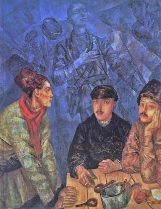 Kuzma-petrov-vodkin-after-the-battle-19232