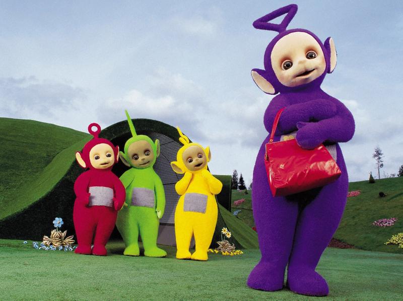 Purple Characters - Tinky Winky