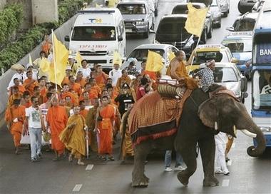 Tibetan march