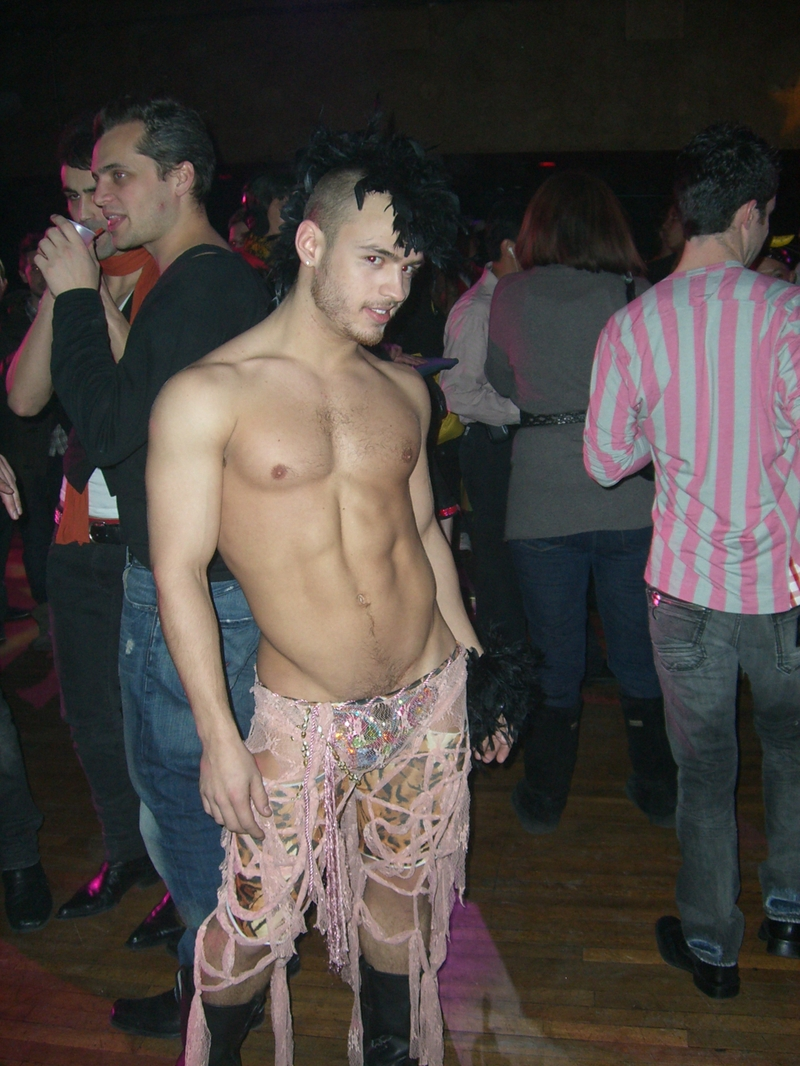 Gay Pink Thong Pic 106